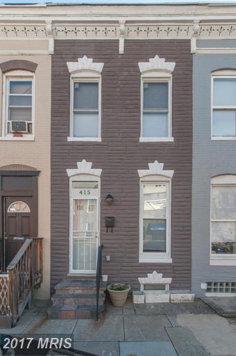 415 Castle Street, Baltimore, MD 21231 (#BA9903292) :: LoCoMusings