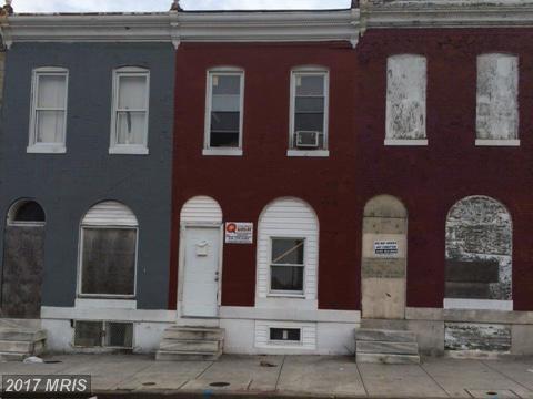 2416 Oliver Street E, Baltimore, MD 21213 (#BA9908854) :: LoCoMusings