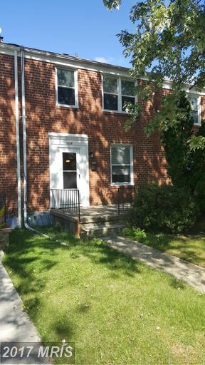 1228 Woodbourne Avenue, Baltimore, MD 21239 (#BA9930201) :: LoCoMusings