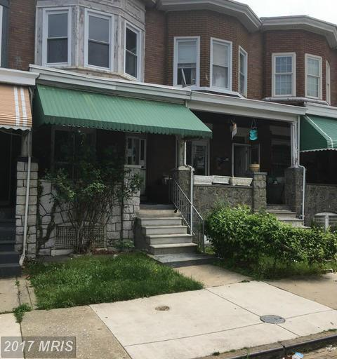 1625 Smallwood Street N, Baltimore, MD 21216 (#BA9952932) :: LoCoMusings