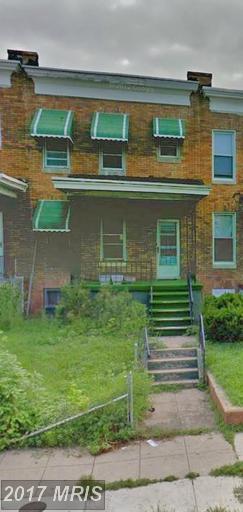1533 Smallwood Street, Baltimore, MD 21216 (#BA9956728) :: Pearson Smith Realty