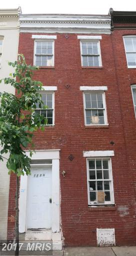 1229 Hollins Street, Baltimore, MD 21223 (#BA9959180) :: Pearson Smith Realty