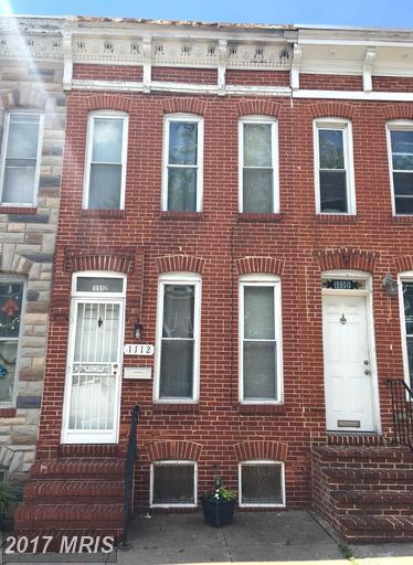 1112 Sargeant Street, Baltimore, MD 21223 (#BA9969007) :: LoCoMusings