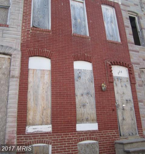 333 Smallwood Street S, Baltimore, MD 21223 (#BA9972244) :: LoCoMusings
