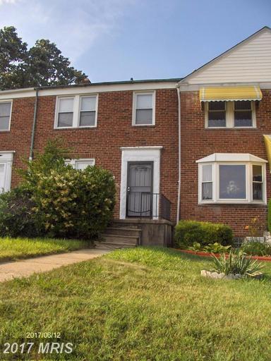 1504 Cold Spring Lane, Baltimore, MD 21218 (#BA9975300) :: LoCoMusings