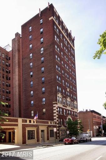 1001 Saint Paul Street 5H, Baltimore, MD 21202 (#BA9983122) :: LoCoMusings