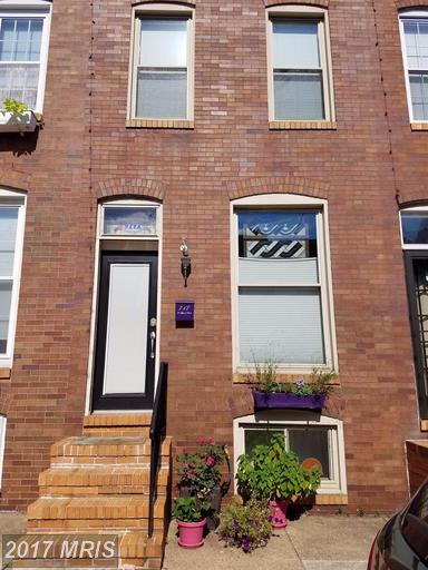717 Glover Street S, Baltimore, MD 21224 (#BA9985117) :: The Dailey Group