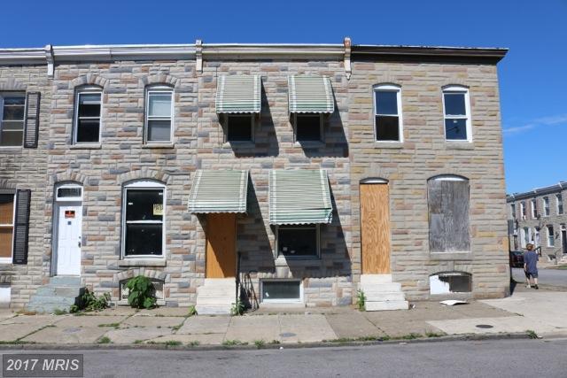 502 Smallwood Street, Baltimore, MD 21223 (#BA9985222) :: LoCoMusings