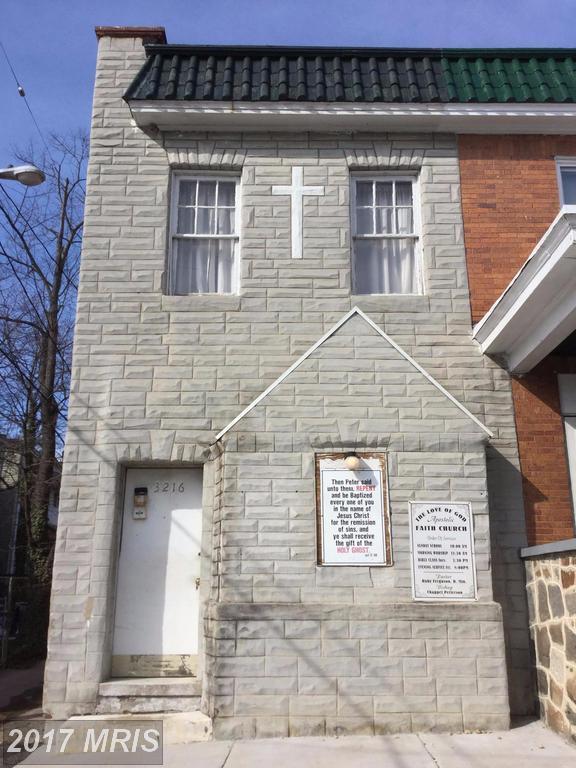 3216 Baltimore Street W, Baltimore, MD 21229 (#BA9993932) :: LoCoMusings