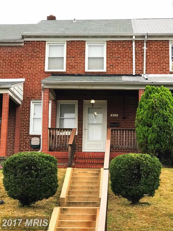 417 Pembrooke Boulevard, Baltimore, MD 21224 (#BC10077793) :: LoCoMusings