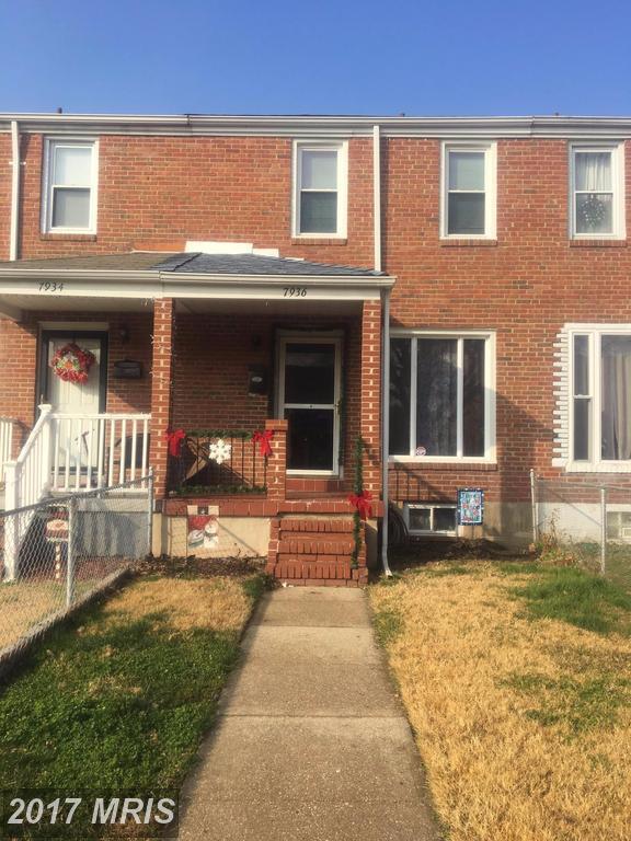 7936 St Bridget Lane, Baltimore, MD 21222 (#BC10114743) :: Pearson Smith Realty