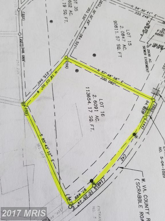 Lot 16 Scrabble Rd, Martinsburg, WV 25404 (#BE10015349) :: Pearson Smith Realty