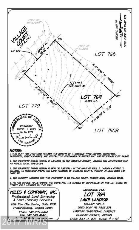 210 Village Court, Ruther Glen, VA 22546 (#CV10044054) :: Pearson Smith Realty