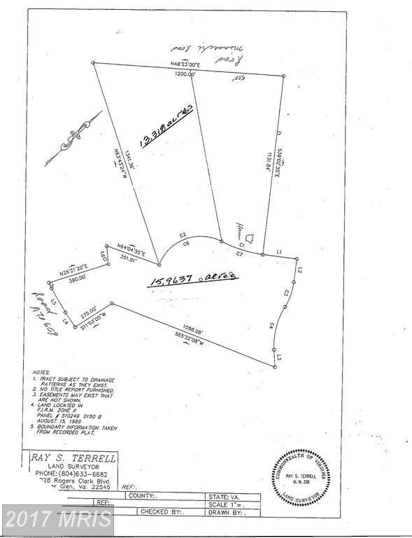 Woodslane Road, Woodford, VA 22580 (#CV10105733) :: United Real Estate Premier