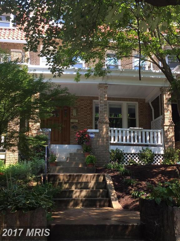 1705 Irving Street NW, Washington, DC 20010 (#DC10037504) :: Pearson Smith Realty
