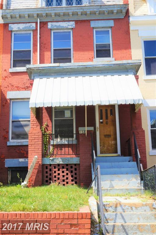 158 U Street NE, Washington, DC 20002 (#DC10045987) :: Pearson Smith Realty