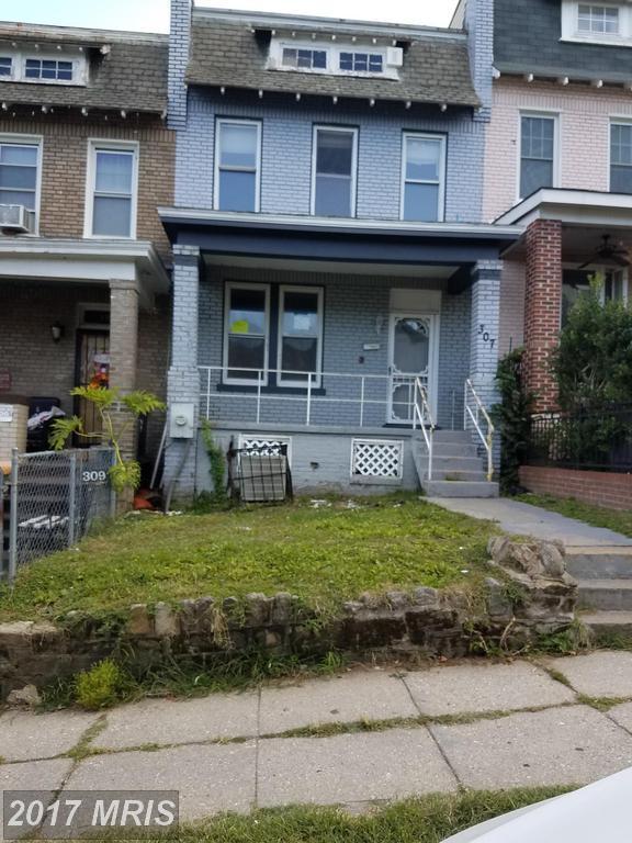 307 Todd Place NE, Washington, DC 20002 (#DC10054255) :: Pearson Smith Realty