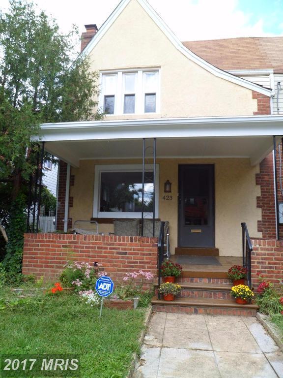 423 Peabody Street NW, Washington, DC 20011 (#DC10058951) :: Pearson Smith Realty
