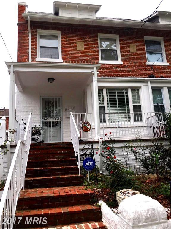 616 Quintana Place NW, Washington, DC 20011 (#DC10077057) :: LoCoMusings