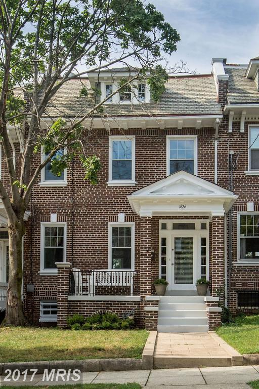 1626 Webster Street NW, Washington, DC 20011 (#DC10094430) :: The Cox & Cox Group at Keller Williams Realty International
