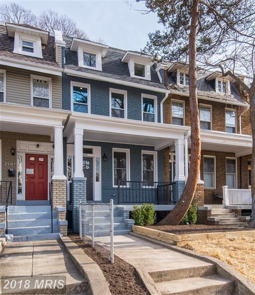 2105 2ND Street NE, Washington, DC 20002 (#DC10137296) :: Pearson Smith Realty