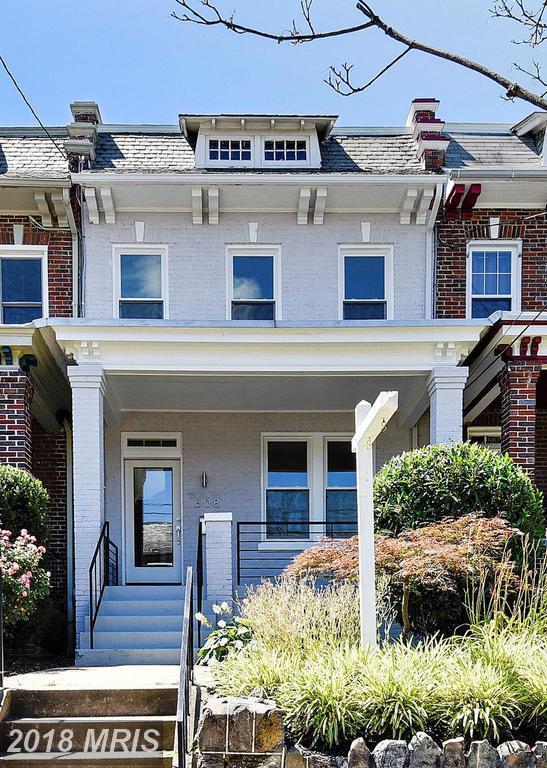 608 Emerson Street NW, Washington, DC 20011 (#DC10182411) :: SURE Sales Group