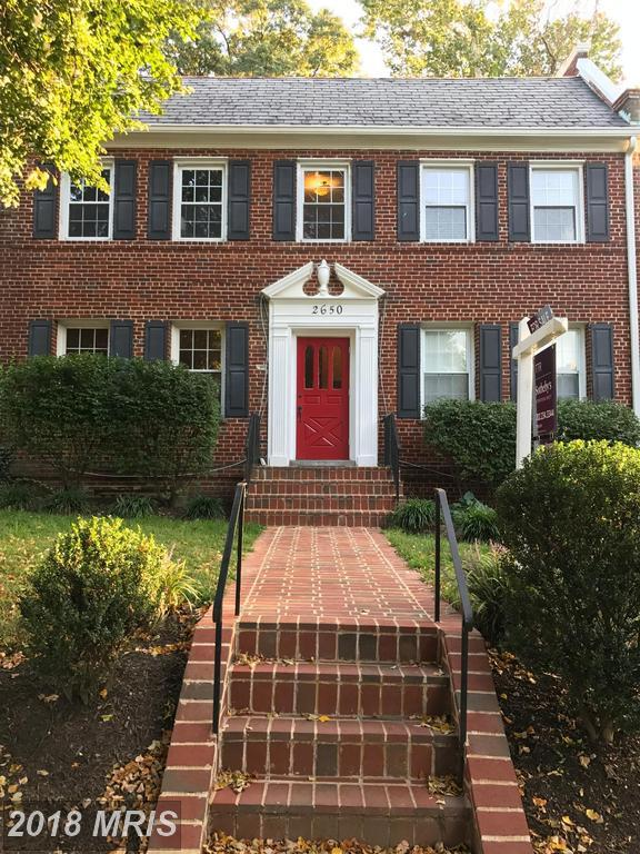 2650 39TH Street NW #1, Washington, DC 20007 (#DC10207510) :: ExecuHome Realty