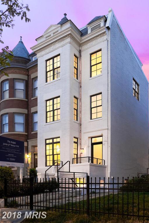 3209 13TH Street NW #101, Washington, DC 20010 (#DC10240253) :: Dart Homes