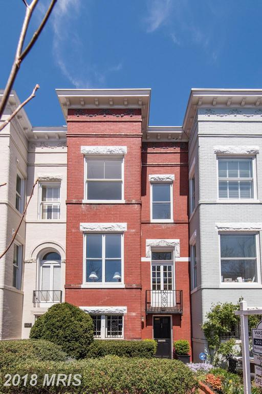 3319 P Street NW, Washington, DC 20007 (#DC10245362) :: Dart Homes