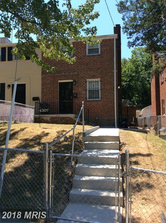4307 F Street SE, Washington, DC 20019 (#DC10281542) :: Provident Real Estate