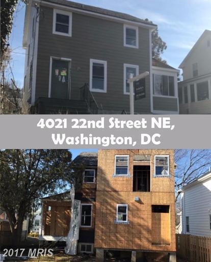 4021 22ND Street NE, Washington, DC 20018 (#DC9980465) :: LoCoMusings