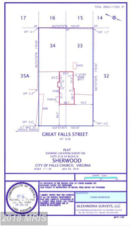 517 Great Falls Street, Falls Church, VA 22046 (#FA10320046) :: AJ Team Realty