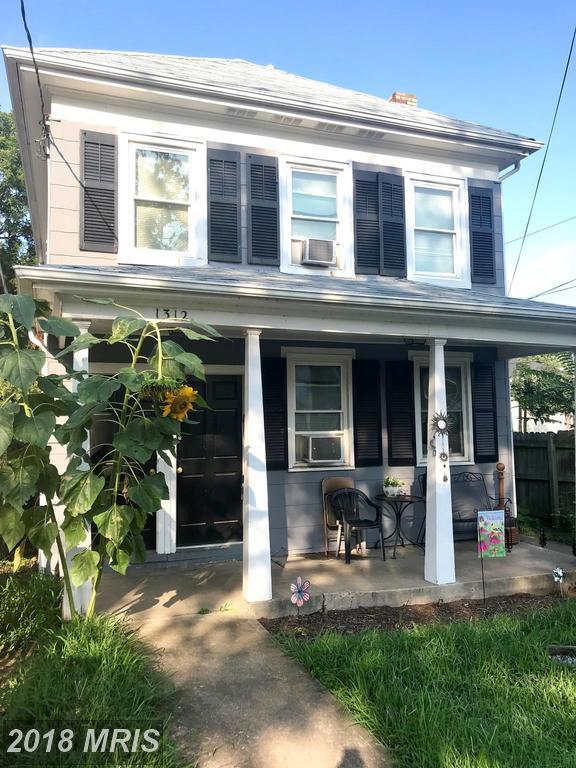 1312 Charles Street, Fredericksburg, VA 22401 (#FB9013875) :: Bob Lucido Team of Keller Williams Integrity