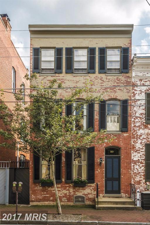 20 3RD Street E, Frederick, MD 21701 (#FR10035088) :: Charis Realty Group