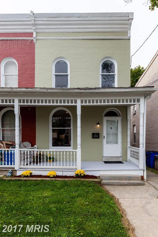 316 3RD Street E, Frederick, MD 21701 (#FR10047229) :: Charis Realty Group