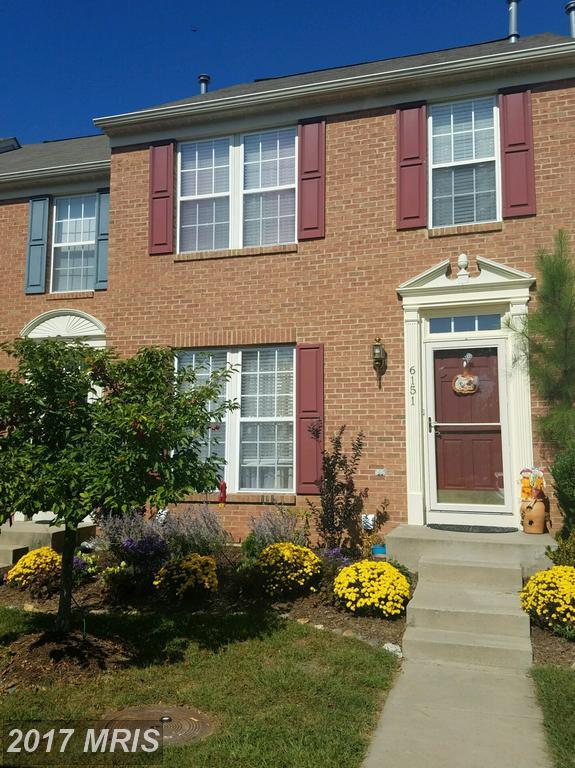 6151 Newport Terrace, Frederick, MD 21701 (#FR10068331) :: LoCoMusings