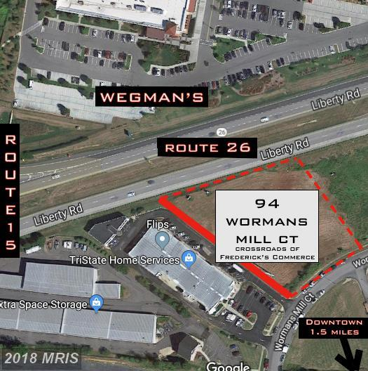 94 Wormans Mill Court, Frederick, MD 21701 (#FR10159423) :: The Maryland Group of Long & Foster