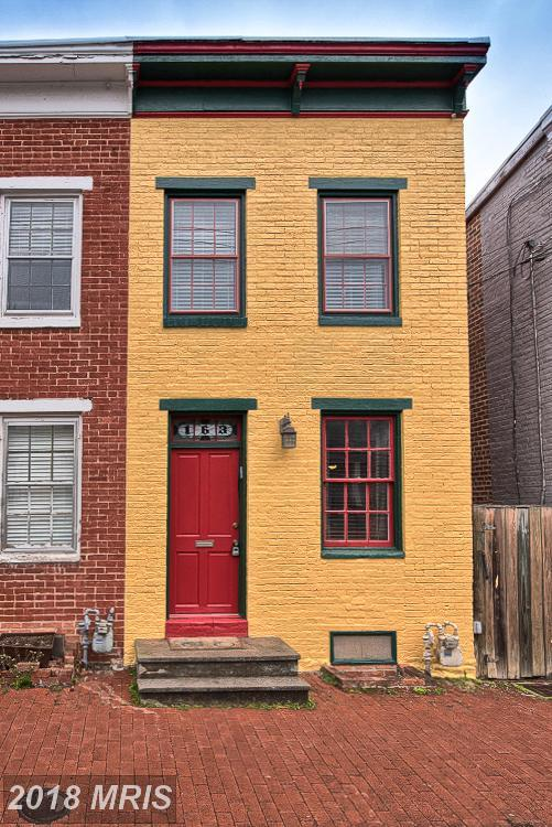 163 All Saints Street W, Frederick, MD 21701 (#FR10209380) :: Keller Williams Pat Hiban Real Estate Group