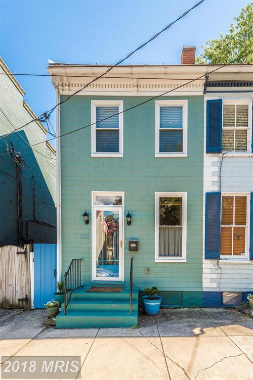 110 4TH Street W, Frederick, MD 21701 (#FR10273787) :: The Gus Anthony Team