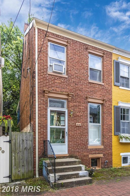 218 3RD Street E, Frederick, MD 21701 (#FR10327451) :: ExecuHome Realty