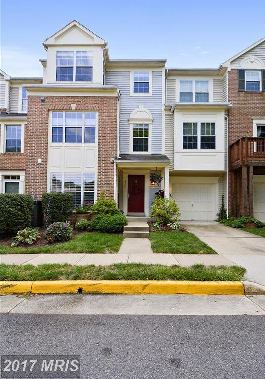 4357 Hackney Coach Lane #154, Fairfax, VA 22030 (#FX10036041) :: The Tom Conner Team