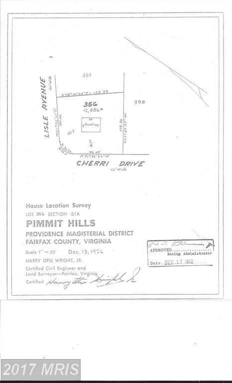 1901 Cherri Drive, Falls Church, VA 22043 (#FX10093187) :: Pearson Smith Realty