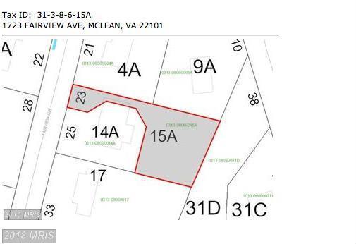1723 Fairview Avenue, Mclean, VA 22101 (#FX10185775) :: Arlington Realty, Inc.
