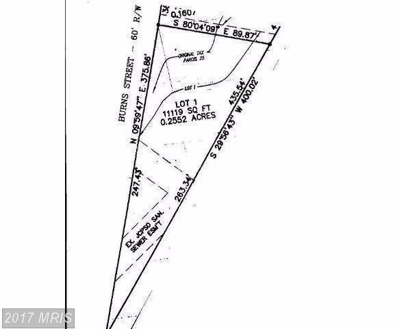 Lot 1 Burns Street, Ranson, WV 25438 (#JF10117854) :: Hill Crest Realty