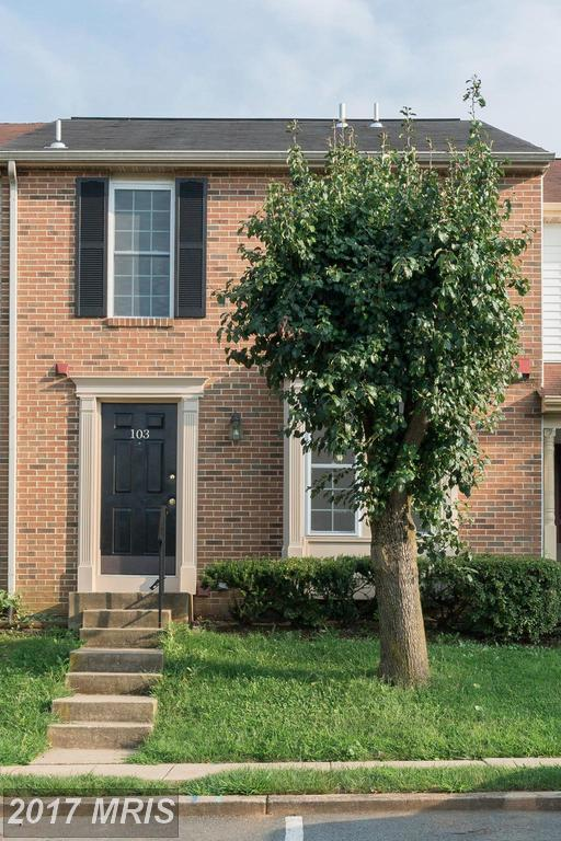 103 Coral Reef Terrace, Gaithersburg, MD 20878 (#MC10041351) :: Pearson Smith Realty