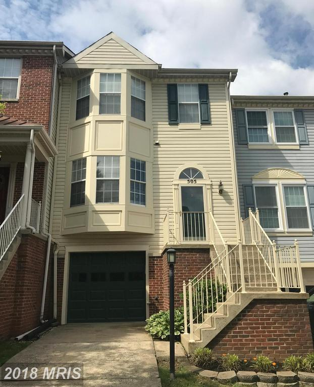 505 Beacon Hill Terrace, Gaithersburg, MD 20878 (#MC10272506) :: Dart Homes