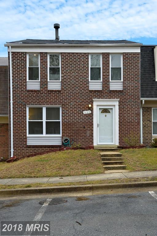 535 Peacock Drive, Landover, MD 20785 (#PG10155597) :: The Gus Anthony Team