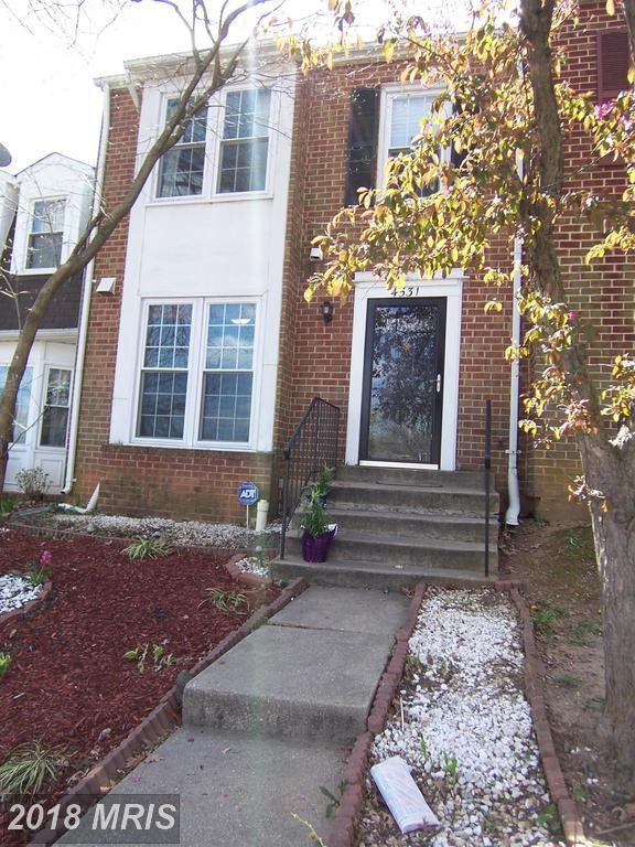 4531 Sparrow Court, Woodbridge, VA 22193 (#PW10213535) :: Green Tree Realty