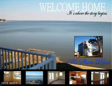 126 Shore Drive, Colonial Beach, VA 22443 (#WE10270902) :: AJ Team Realty