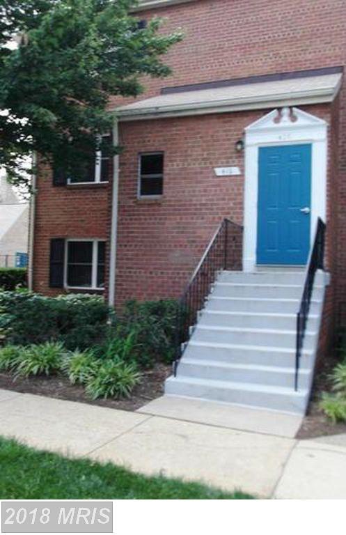 416 N. Armistead Street #1, Alexandria, VA 22312 (#AX10194087) :: Dart Homes